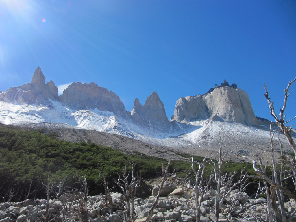 Im Valle de Frances, Torres del Paine Nationalpark